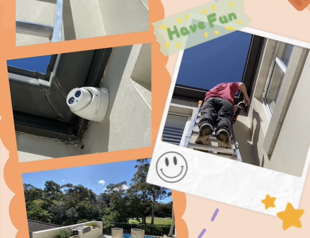 Hivision 4k 8m fix lens turret camera's best installation sydney