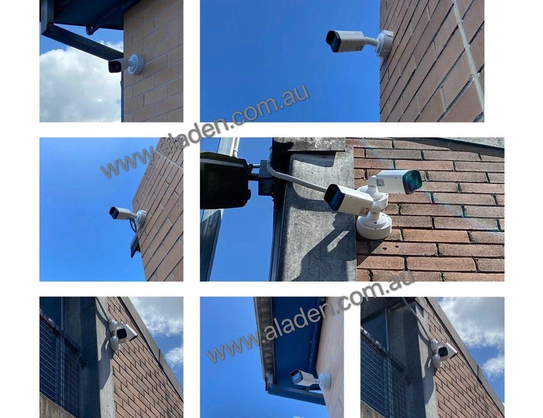 Dahua 4k 8m motorized lens bullet camera's best installation sydney