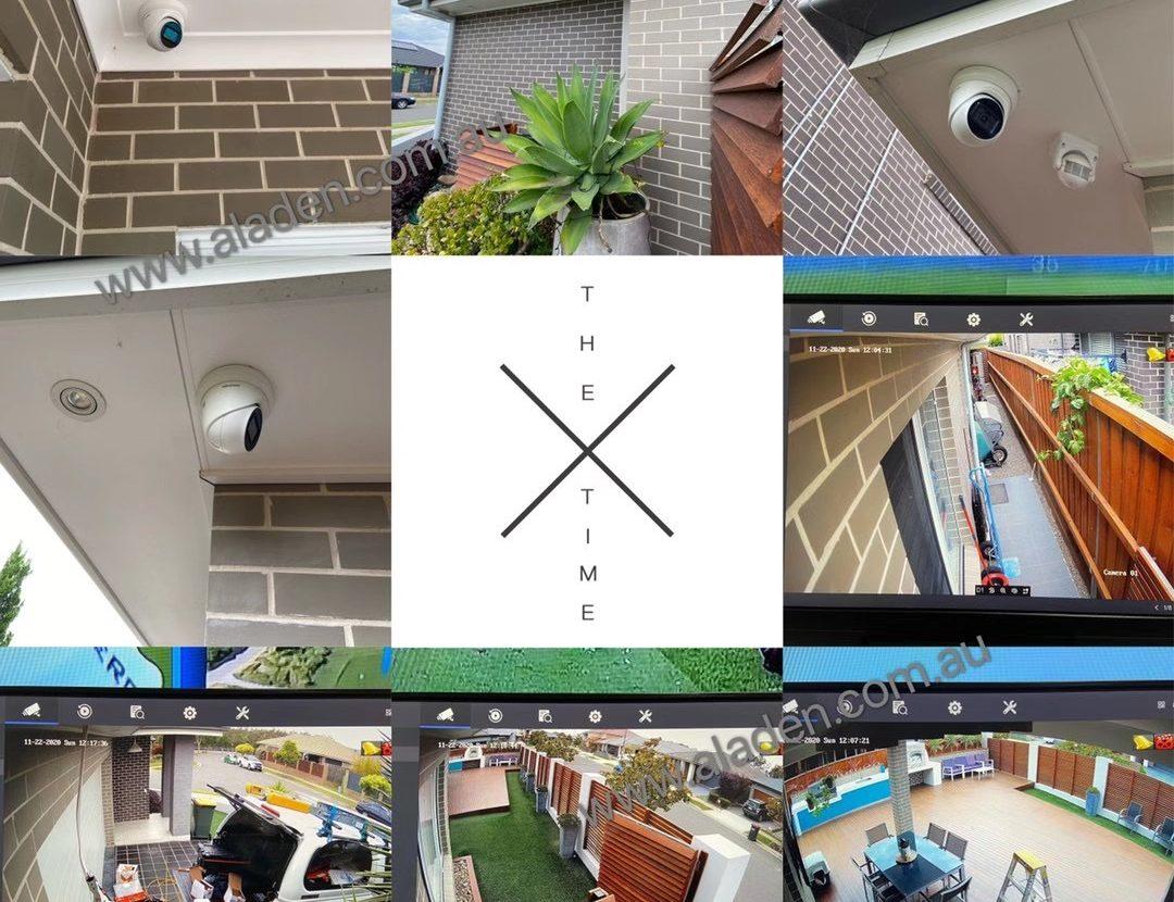 dahua 4k 8m fix lens turret camera's best installation sydney